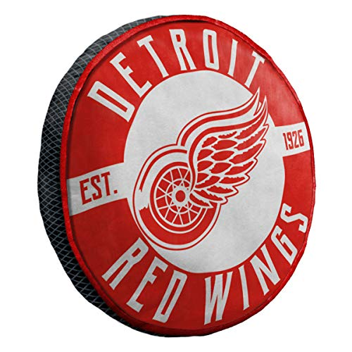 Detroit Red Wings Pillow - The Northwest Company Detroit Red Wings NHL 15in Cloud Travel Pillow