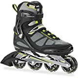 Rollerblade Men's Spark 80ALU Skate, Black/Green, 13