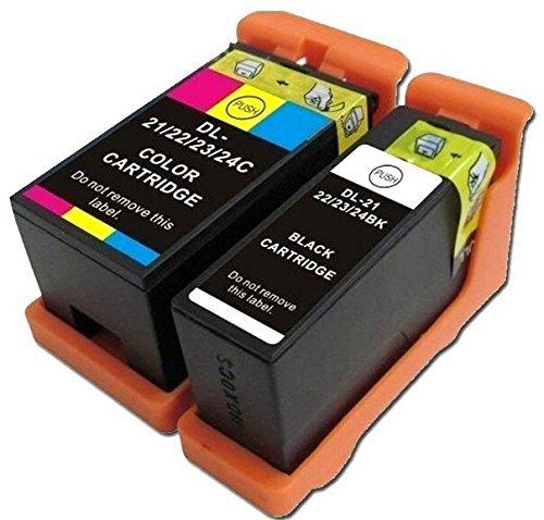 2 ink cartridge Compatible for Dell printer V313 V313W V515W