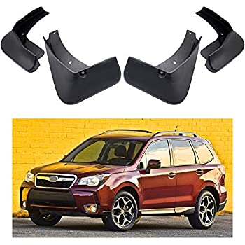 A-premium Splash Guards Mud Flaps Mudflaps for Subaru Forester 2014-2016 Front and Rear 4-PC Set