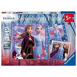 Ravensburger Frozen 2 Puzzle 3 X 49 Pezzi Multicolore 05011