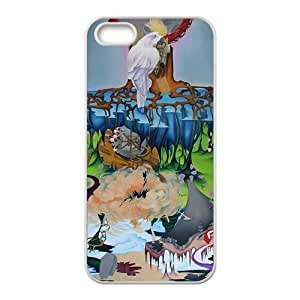 Abstract artistic painting Phone Case for iPhone 5S(TPU)