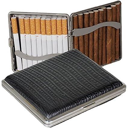 Estuche para paquete de cigarrillos - Funda de piel con ...