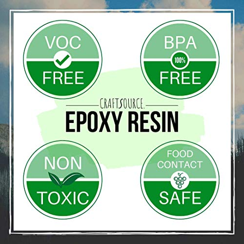 Epoxy Resin Kit for Wood Coating & Casting - 16oz