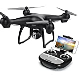 GPS FPV RC Drone with Camera Live Video, MaQue MQ001 GPS Return Home Quadcopter with Adjustable Wide-Angle 720P HD WIFI Camera- Follow Me, Altitude Hold, Intelligent Battery, Long Control Distance