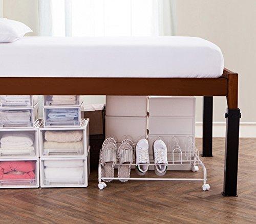 DormCo Suprima Ultimate Height Bed Risers - Carbon Steel - Black