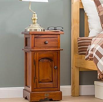 Amazon.de: Mahagoni Nachttisch antik-Schlafzimmer Schrank Möbel ...