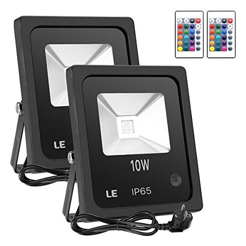 Led 10W Rgb Colour Changing Flood Light Ip65