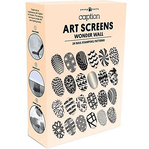 (YOUNG NAILS Art Screens Wonder Wall, 4 oz. )