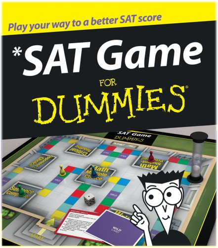 SAT Game for Dummies (Test Prep Board Game)