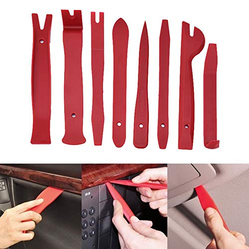 Daphot-Store - 13Pcs Car Trim Removal Tool Universal Car Door Panel Trim Dashboard Clips Pliers Fastener Removal Tools Kit Car-Styling
