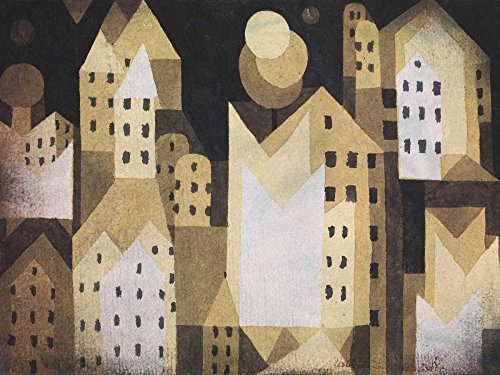 Cold City Poster Print by Paul Klee (22 x 28)