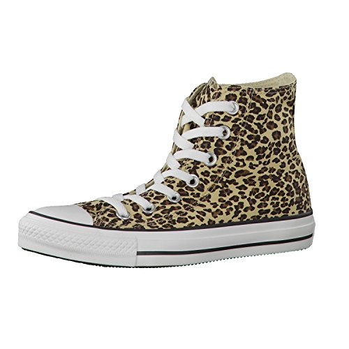 Converse Unisex Chuck Taylor All Star Core Hi Trainer Leopard 7,5 UK leopardo