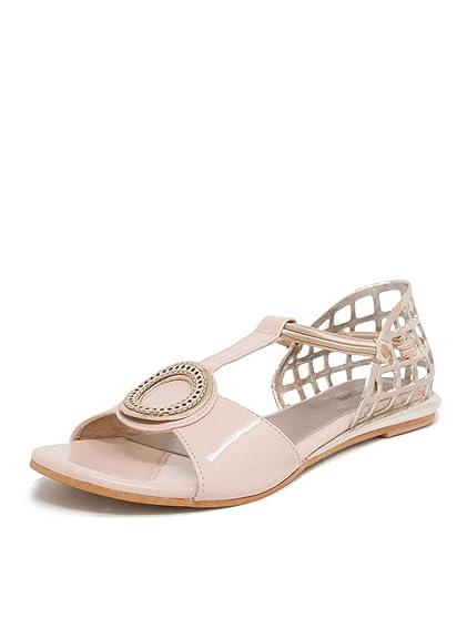 134a3fe69 MarcLoire Women & Girls Footwear Flats Sandal, Casual Wear Stylish & Fashionable  Flats Sandals, Open Toe Fashion Sandals with Slip-On Closure, ...