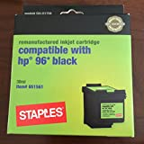 Best Staples Ink Cartridges - Remanufactured Ink Cartridge Replacement for HP 96 Review