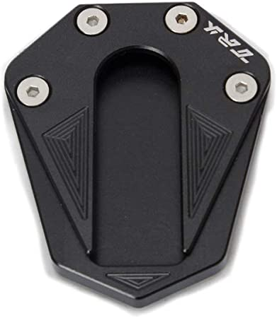 Piedino di estensione per cavalletto per moto Benelli TRK 502 TRK502X nero SZMYLED