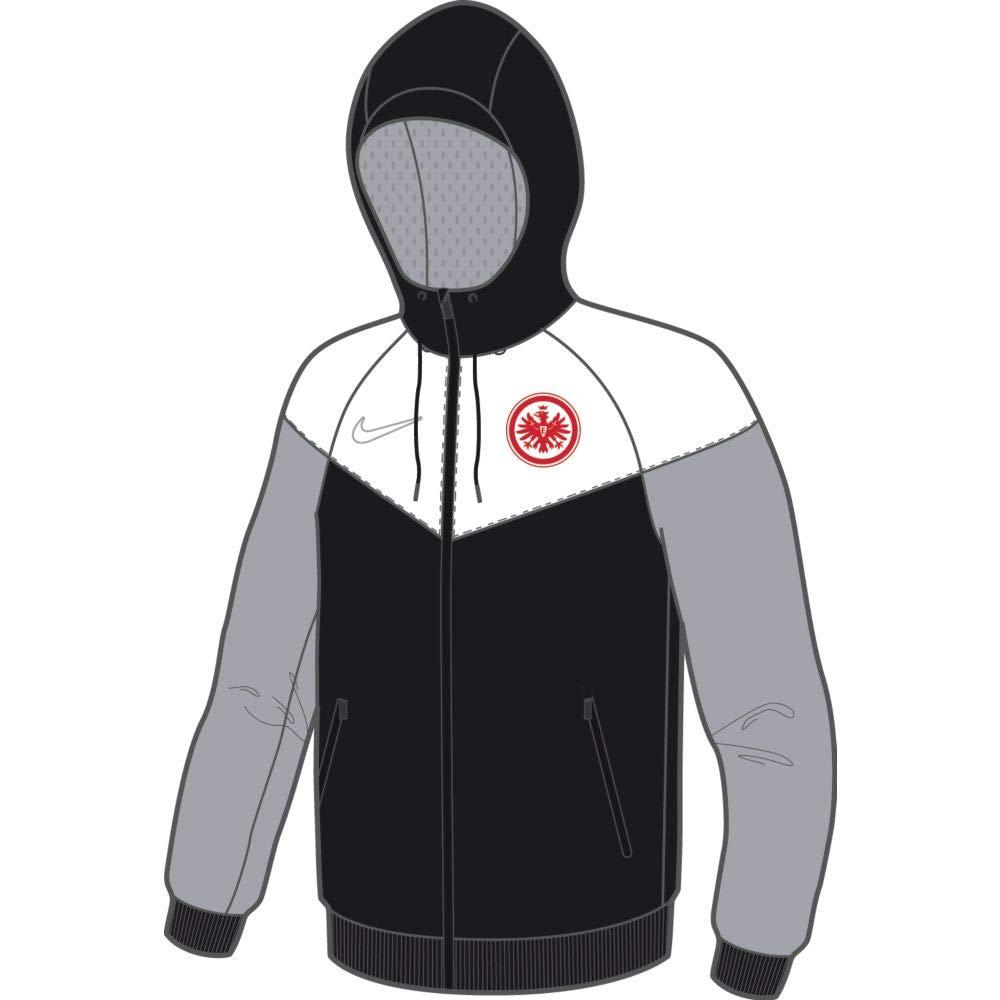 noir blanc Wolf gris (Wolf gris) (No Sponsor-Plyr) M Nike Sge M NSW WR WVN AUT X Veste de Sport Homme