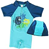 BAOHULU Boys&Girls One-Piece UPF 50+ UV Swimming Bathing Swimwear