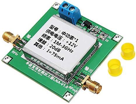 1-3000MHz 20dB LNA RF Broadband Low Noise Amplifier Module B