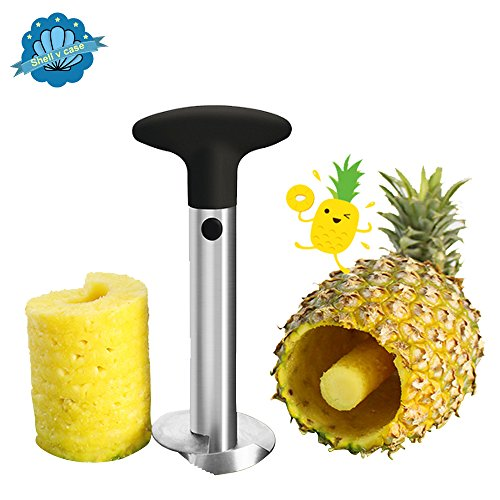 Shellvcase [Stainless Steel] Pineapple Easy Slicer & Corer For Restaurant and Kitchen
