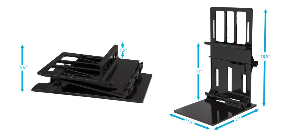 Veyem Portable Ergonomic Stand For Laptops Usb Powered