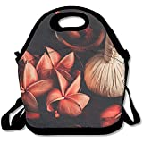 Staropor Close Up View Of Spa Theme Objects High Angle View Cool Lunch Tote Lunch Bag School Mid-sized