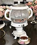 The Original -RAYA Glass Electric Samovar Modern