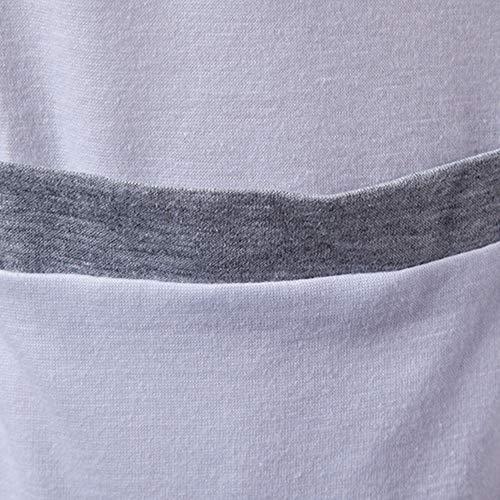 mode col à Trench Gris Coat Blouse Haut Hiver Cardigan pour unie Manteau Pull couleur la Long rabattu Oliviavan hommes solide à 4f88xT