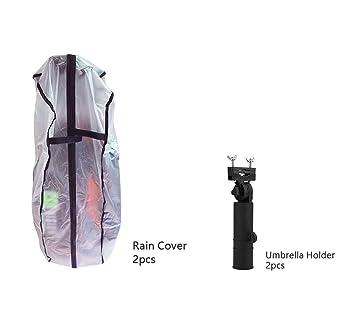 555ae7f6c90f Amazon.com : POSMA RC010D Golf Bag Rain Cover 2pcs, Umbrella Holder ...
