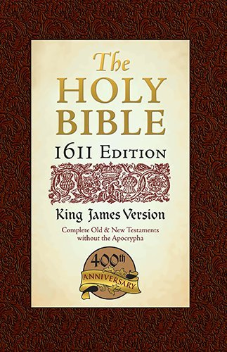Download 1611 Bible-KJV-400th Anniversary (400 Anv) (2010-02-16) [Hardcover] pdf