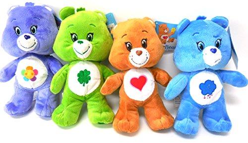 [Care Bears Harmony, Tenderheart, Grumpy and Lucky Bears 8.5 inches Standing Care Bear] (Care Bear Plush)