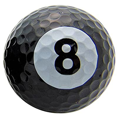 One Eight Ball #8 Pool Design Novelty Golf Ball Gift for Any Golfer