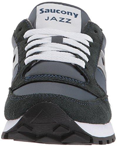 Saucony - Jazz Original - Chaussures de Cross - Femme Bleu Marine/Gris 5Q2Up7
