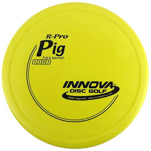 - INNOVA R-Pro Pig Putt & Approach Golf Disc [Colors May Vary] - 173-175g