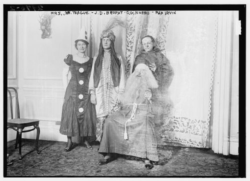 Photo: Mrs. W. Teague - J.D. Brophy - C.G. Norris - Rea (1914 Costumes For Sale)