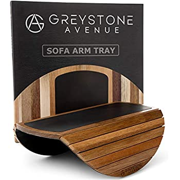 Amazon Com Couchmaid Table Top Solid Wood Sofa Tray Lap