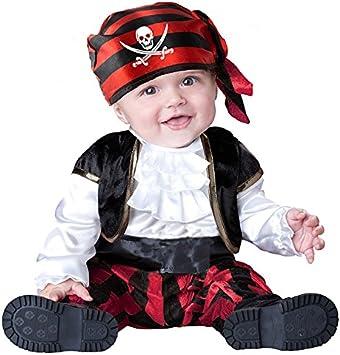 EL CARNAVAL Disfraz Pirata Bebe. Talla de 1 a 2 años: Amazon.es ...