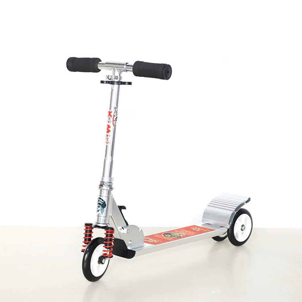 HoEOQeT Le Le Scooter à Trois Roues pour Enfants Peut soulever Tous Les Scooters pliants en Alliage d'aluminium avec Roue de réduction en Choc  le plus préférentiel