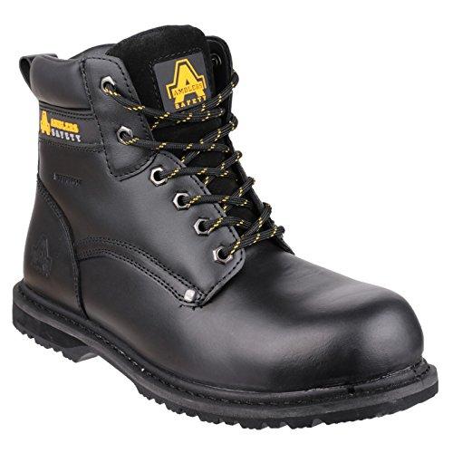Amblers FS146 - Chaussures montantes de sécurité - Homme (46 EU) (Noir)