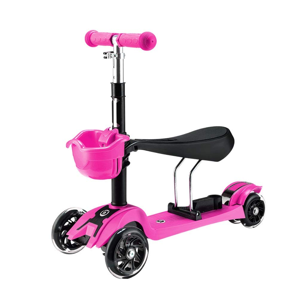Runplayer Runplayer 子供のフラッシュ三輪スクーター (、子供の幼児スクーターに適しています ( ) Color : Pink ) B07QXX6KN3, エクサスEXASカジュアル服飾雑貨:35a0cd7f --- gateridge.com