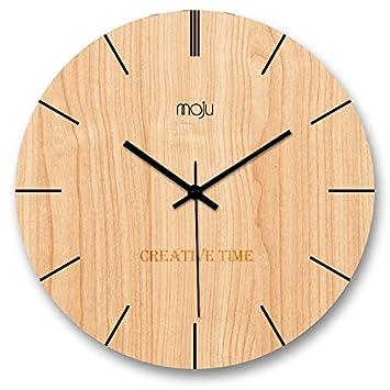 Amazon.de: Kreative minimalistische Mode Nordic Wanduhr ...