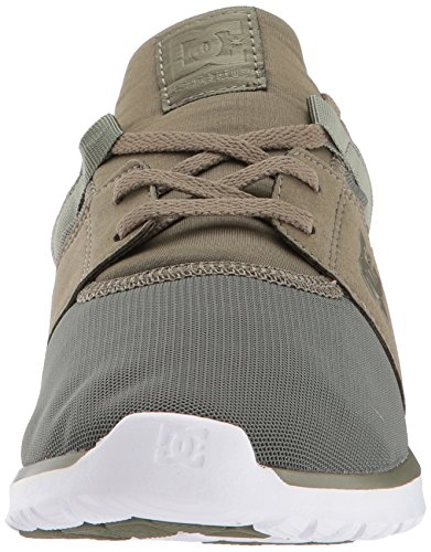 Olive DC Casual Heathrow Night Men's Skate Shoe White 4ZqZWTwA