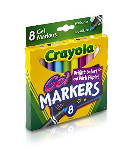 Crayola 8 Count Gel FX Washable Markers ()
