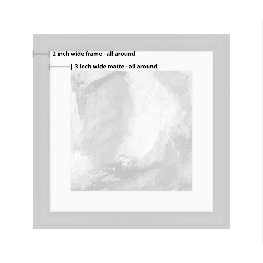 Amazon.com: Ashley Framed Prints Abstract On Wood, Wall Art Home ...