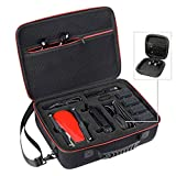 Zadii Hard Carrying Case for DJI Mavic Air, Fit for Mavic Air Drone, Remote Controller, Up to 5 Batteries, Charger, Charging Hub and Other Accessories