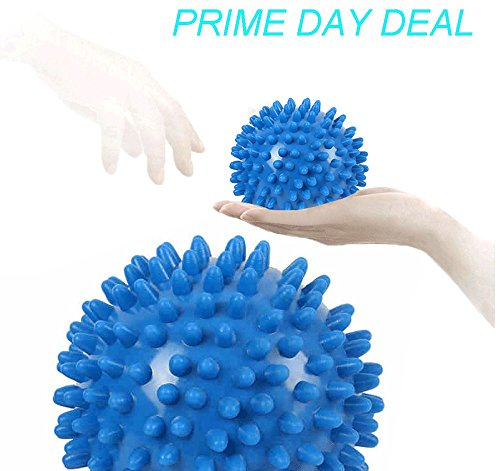Finlon Massage Ball Set Therapy Massage Balls for Feet Back Muscle Knots Acupressure Deep Tissue Massage Plantar Fasciitis Trigger Point Therapy