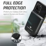 ZEROLEMON Galaxy S20 Ultra Battery Case 8000mAh, Qi Wireless Charging Supported, Ultra Power Extended Battery Charger Case for Galaxy S20 Ultra - Black