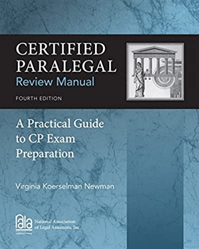 certified paralegal review manual a practical guide to cp exam rh amazon com Nce Exam Study Guide nala paralegal certification exam study guide