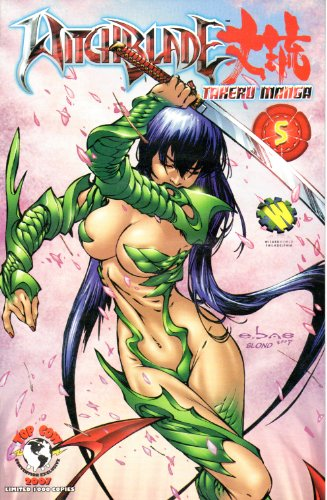 Witchblade Takeru Manga #5 WizardWorld Philadelphia - Ebas Cover