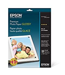 Designed for use with EPSON's Stylus Photo 780/785EPX/1280 series printers, this 8-by-10-inch borderless photo paper provides a great solution for your home photo-processing needs. Print high-quality photos for framing, photo albums, and enla...